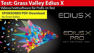Test: Grass Valley - Edius X