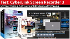 Im Test: CyberLink Screen Recorder 3 Deluxe