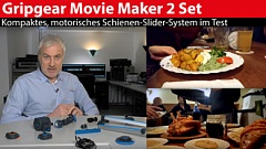 Gripgear Movie Maker 2 Set: Motorisches Schienen-System im Videotest