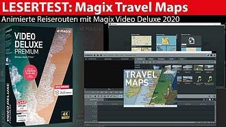 Magix Travel Maps: Reiserouten-Animation im Lesertest mit Testvideo
