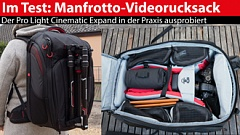 Manfrotto Pro Light Cinema Expand: Videorucksack im Test